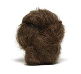 Brushed Mohair - Brunette