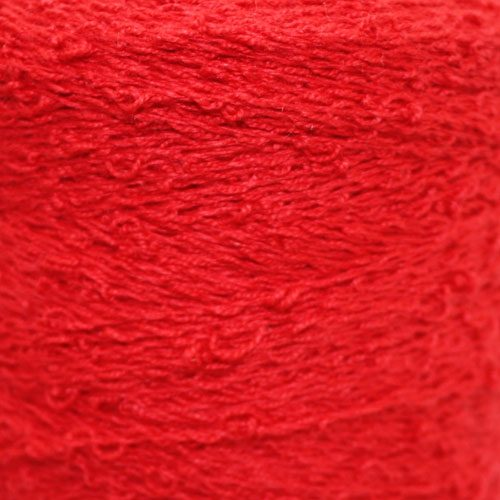 Bouclé Cotton - Red