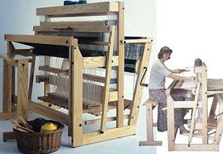 """Louet Delta Floor Loom 110 cm (43.5"""") 12 shaft"""