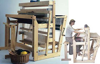 "Louet Delta Floor Loom 110 cm (43.5"") 12 shaft"