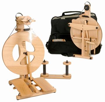Louet Victoria Spinning Wheel - Beech