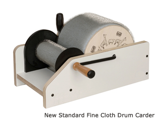 Louet Standard Drum Carder - extra fine