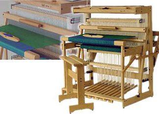 """Louet Spring Floor Loom 90cm (35"""") 12 Shaft"""