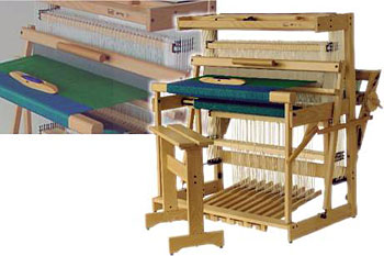 "Louet Spring Floor Loom 90cm (35"") 12 Shaft"