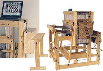 "Louet Megado Floor Loom 110 cm (43"") 32 shaft"