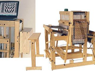 "Louet Megado Floor Loom 70 cm (27.5"") 32 shaft"