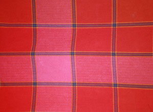 Patterns - Jane's Cotton Red Window Pane Tea Towels