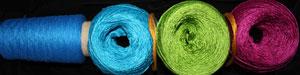 Patterns - GP's Bambu/Mercerized Scarves - Parrot