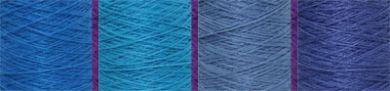 Patterns -  Scarves - Bambu Twill on 4 - Flyin' High in the Blue Sky