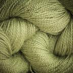 Hand Dyed Hot Line - 100% Silk Noil - Lime Light