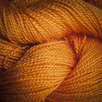 Hand Dyed Hot Line - 30/2 Bombyx Silk - #4 - Tiger Lily