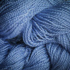 Hand Dyed Hot Line - 20/2 Bombyx Silk - #19 - Blue Suede Shoes