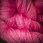 Hand Dyed Hot Line - 30/2 Bombyx Silk - #12 - Dragon Fruit