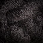 Hand Dyed Hot Line - 30/2 Bombyx Silk - #32 - Black Magic