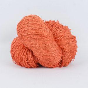 20/2 Tussah Silk - Coral Flame
