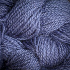 Hand Dyed Hot Line - 20/2 Tussah Silk - #21 - Mary's Blue Cardigan