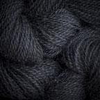 Hand Dyed Hot Line - 20/2 Tussah Silk - #32 - Black Magic