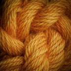 Hand Dyed Hot Line - Alpaca - #4 - Tiger Lily