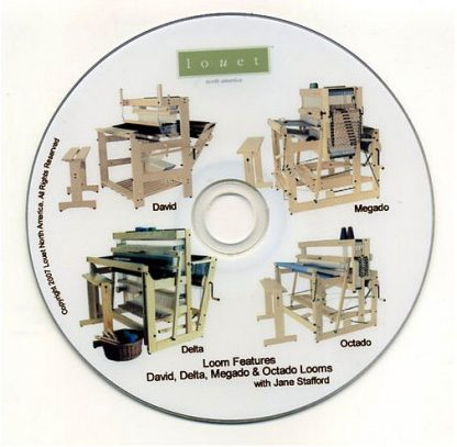 Louet Warping DVD