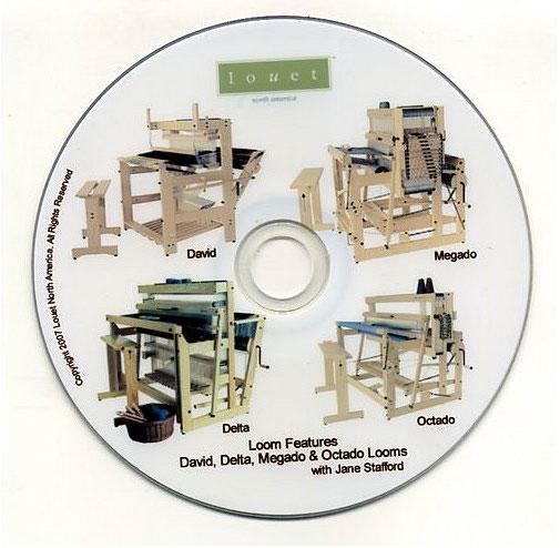 Louet Warping DVD