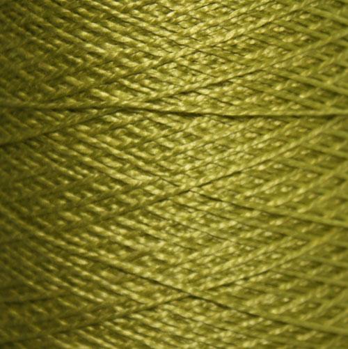 Hand Dyed Hot Line - 20/2 Tussah Silk - #28 - Pistachio