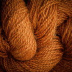Hand Dyed Hot Line - 100% Silk Noil - Autumn Spice