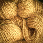 Hand Dyed Hot Line - 100% Silk Noil - Sweet Potato Pie