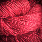 Hand Dyed Hot Line - 20/2 Bombyx Silk - #11 - Shameless