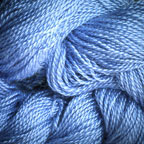 Hand Dyed Hot Line - 30/2 Bombyx Silk - #19 - Blue Suede Shoes