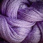 Hand Dyed Hot Line - 30/2 Bombyx Silk - #17 - Margaretta Violetta
