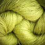 Hand Dyed Hot Line - 20/2 Bombyx Silk - #27 - Lime Light