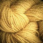 Hand Dyed Hot Line - 100% Silk Noil - Gold Rush