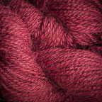 Hand Dyed Hot Line - 100% Silk Noil - Favourite Wine