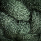 Hand Dyed Hot Line - 100% Silk Noil - Sitka Spruce