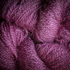 Hand Dyed Hot Line - 100% Silk Noil - Two Lips