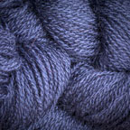 Hand Dyed Hot Line - 100% Silk Noil - B.B. Blue