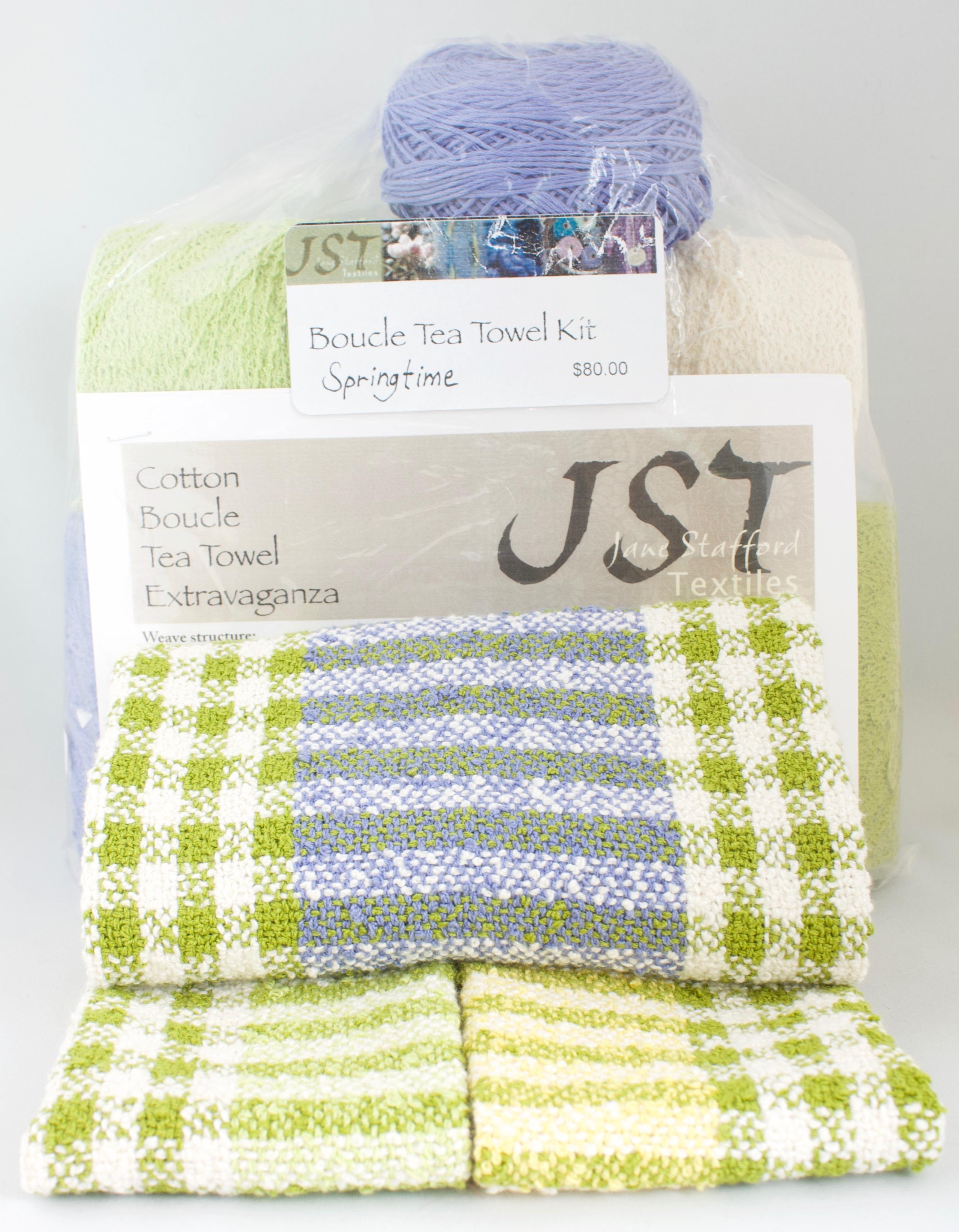 Boucle Tea Towels Kit – Springtime – Jane Stafford Textiles