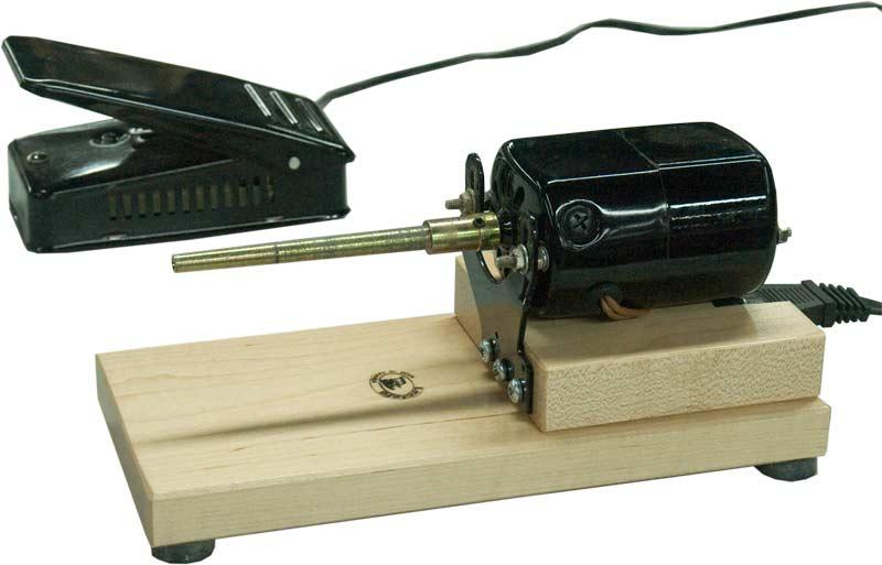 Leclerc Single-Ended Electric Bobbin Winder