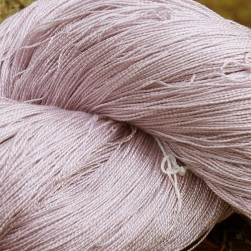 Hand Dyed Hot Line - 30/2 Bombyx Silk - #37 - Jam Jar