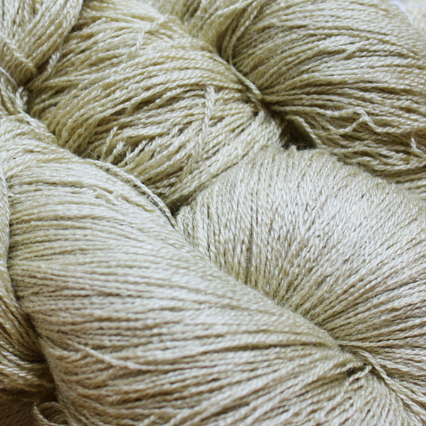 Hand Dyed Hot Line - 20/2 Tussah Silk - #33 - Ivory