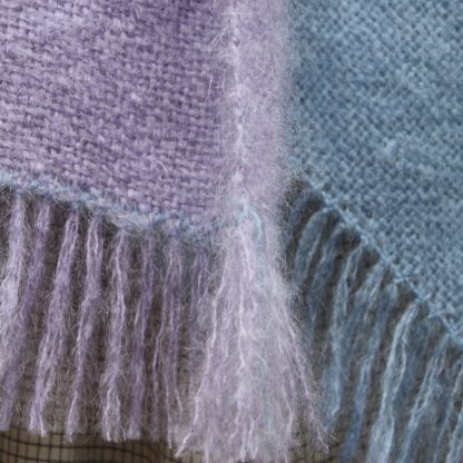 Two Stripe Mohair Blanket kit 2