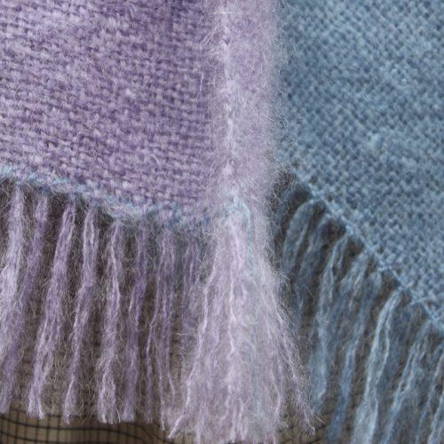 Two Stripe Mohair Blanket kit 2