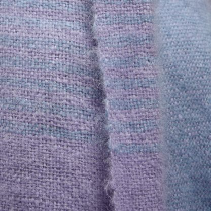Two Stripe Mohair Blanket kit 4