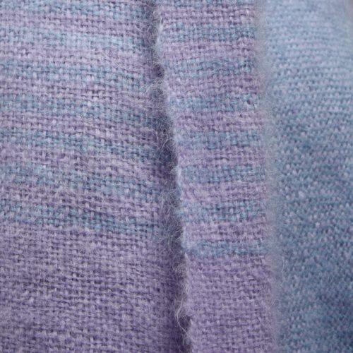 Two Stripe Mohair Blanket kit 4