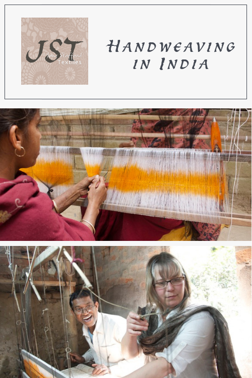 Handweaving in India - on the Jane Stafford Textiles Blog