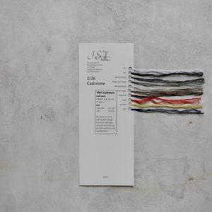 Sample card - Cashmere