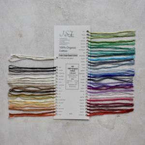 Sample card - Organic Cotton
