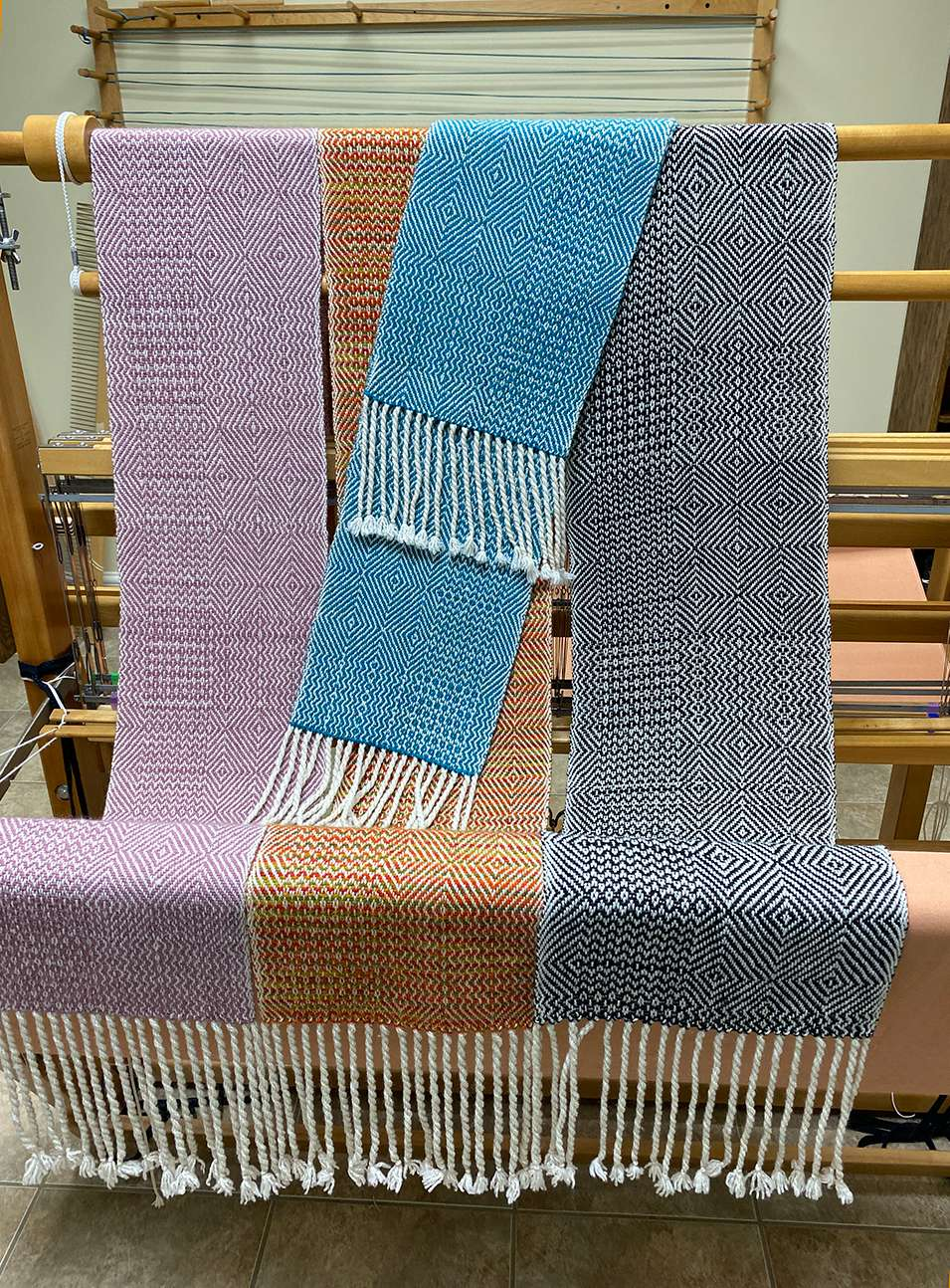 Twill Scarves,  May 2020