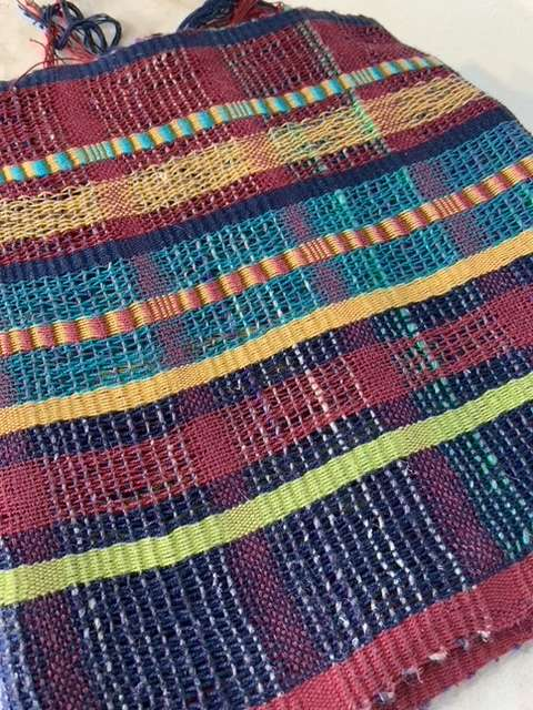 Scarf Silk and Noro Weft 1.1.21